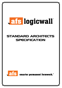 Standard Architects Specification - 211KB